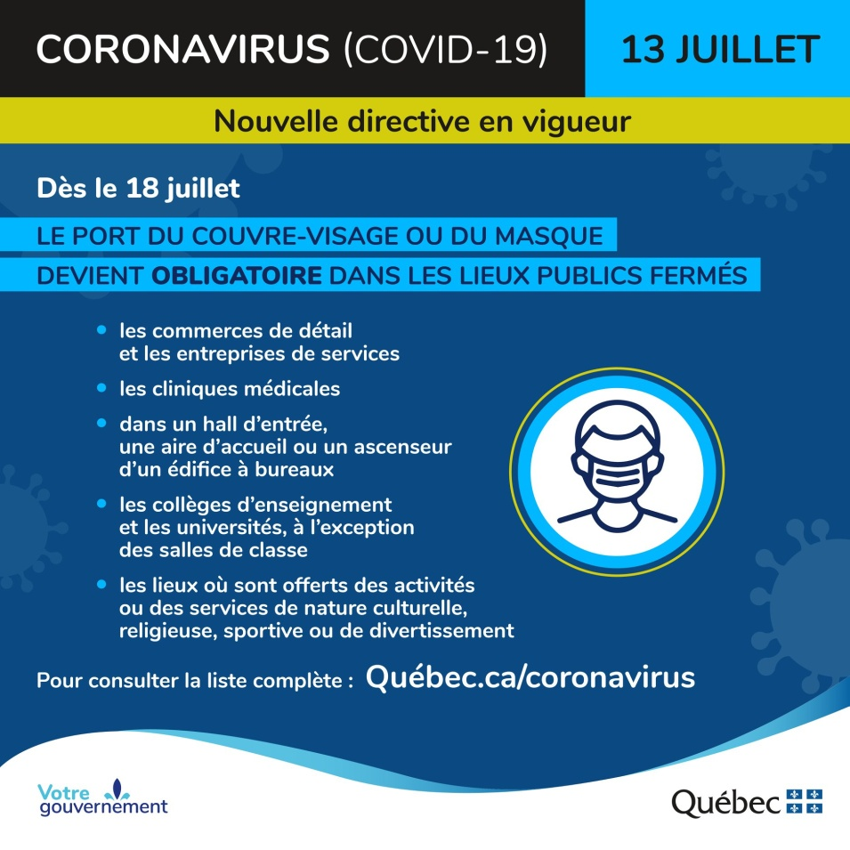 Recommandations gouvernement 5 avril